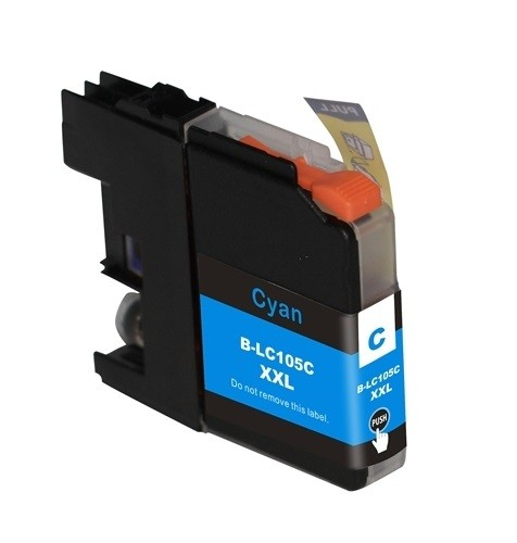 Premium Quality Cyan Inkjet Cartridge compatible with Brother LC-101C