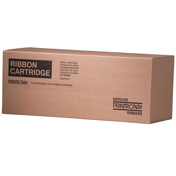 Printronix 255670-402 Black OEM Ribbon Cartridge (4 Rbn/Box)