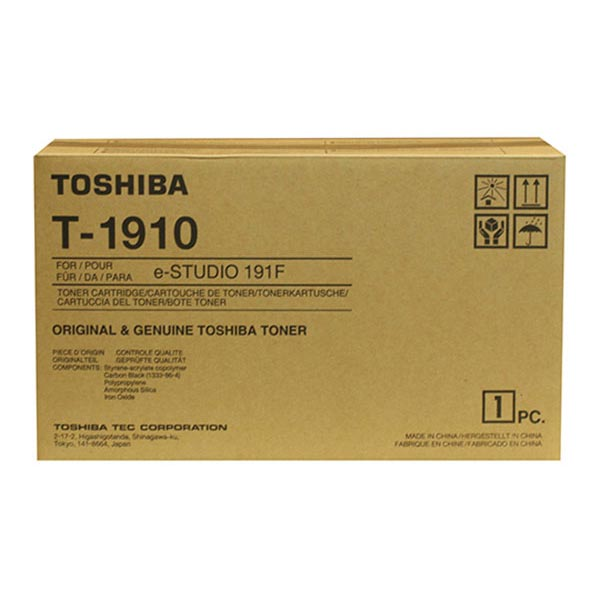Toshiba T-1910 Black OEM Toner Cartridge