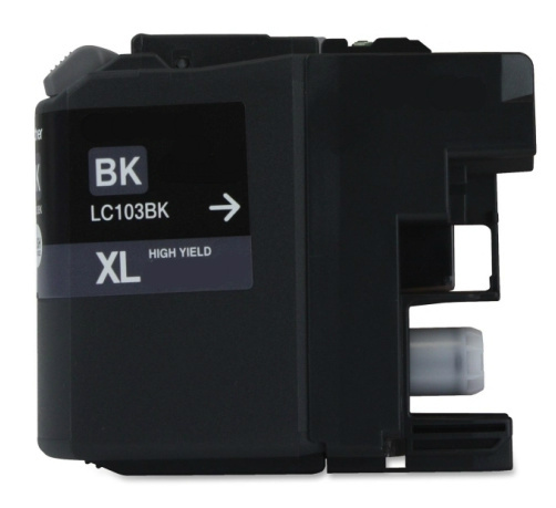 Premium Quality Black Inkjet Cartridge compatible with Brother LC-101Bk